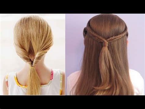 easy hairstyles  kids youtube