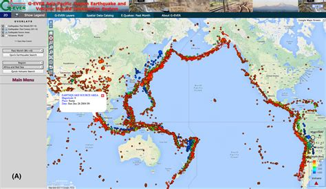 middle east volcano map g asia pacific region earthquake and volcanic hazard