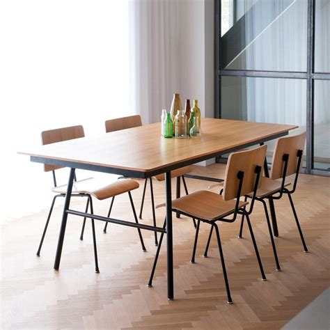 modern kitchen tables school table dining table gus modern