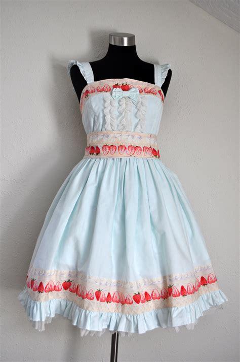 pattern jsk strawberries and cream lolita jsk sewing projects