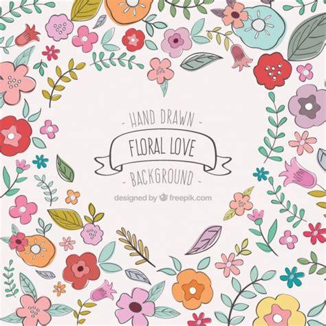imagenes sin fondo de amor fondo floral amor descargar vectores gratis