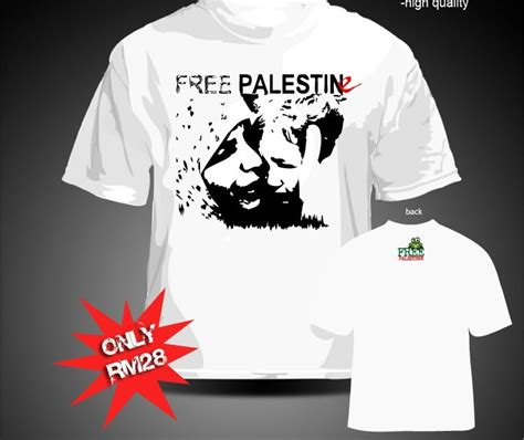 Kaos Tshirt Baju Free Palestine 2 amfabia froggers free palestine t shirt for sale