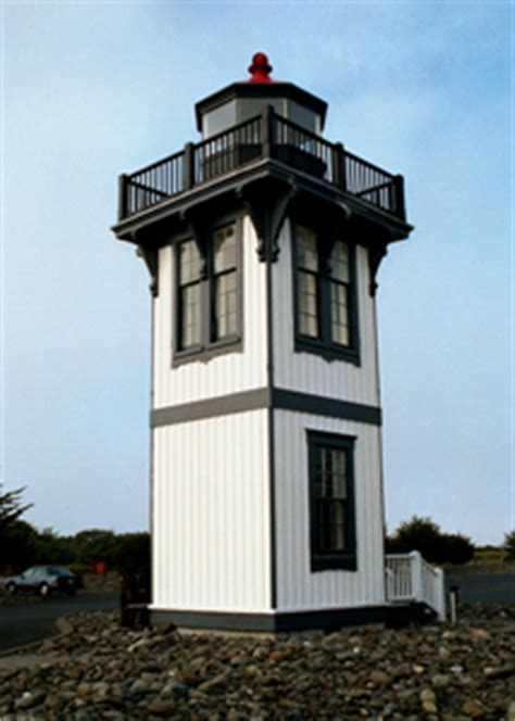 Table Bluff by Table Bluff Lighthouse California