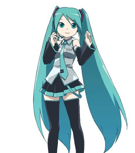 imagenes anime de miku que se mueven hatsune miku de que anime es taringa