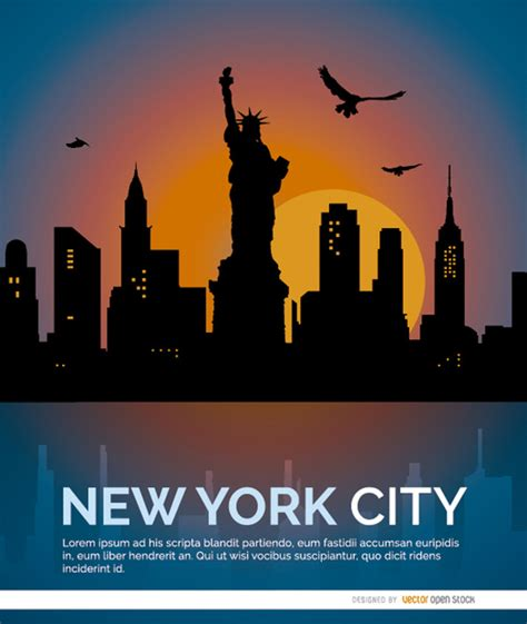 Background Check Nyc New York City Background Vector Free