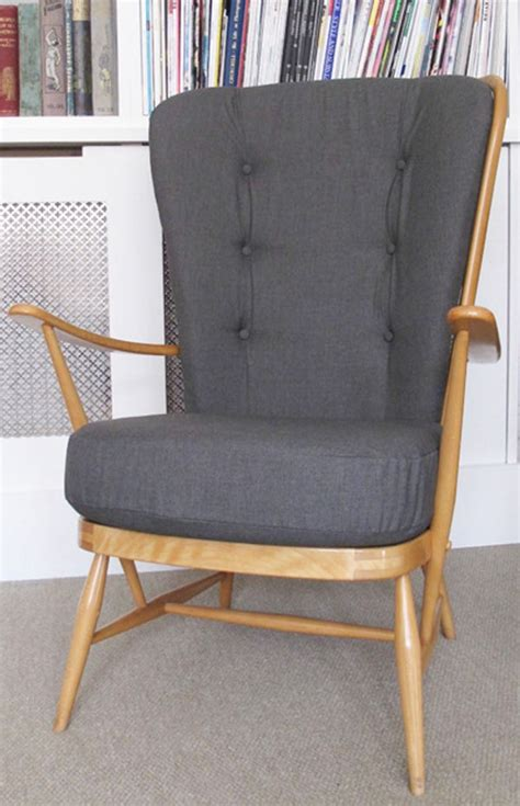 ercol armchair vintage ercol high back chair love it pinterest