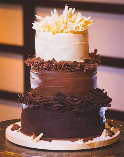 Chocolate Wedding Cakes by Chocolate Wedding Cakes For Fall Weddings That Sure To