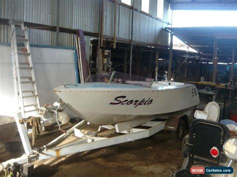 ski boat project for sale wooden speed ski boat 292 y block ford v8 seacraft
