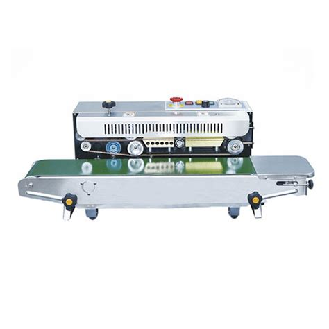 Fr 900f Floor Type Continuous Band Sealer Machine horizontal type ink continuous band sealer