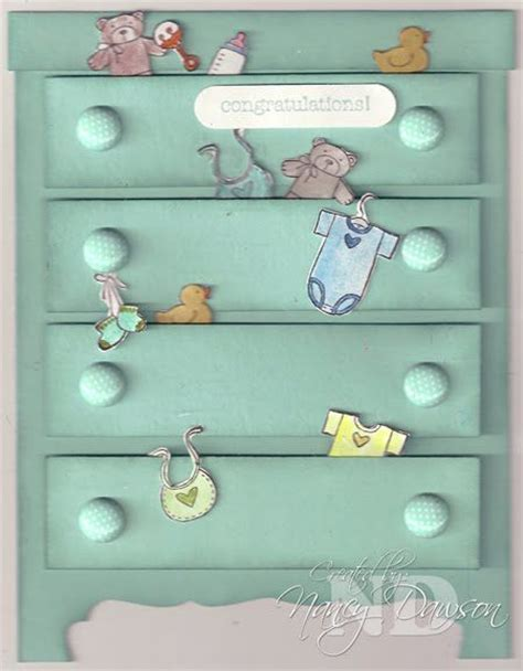 wasel card drawer template 119 best images about baby cards on cards