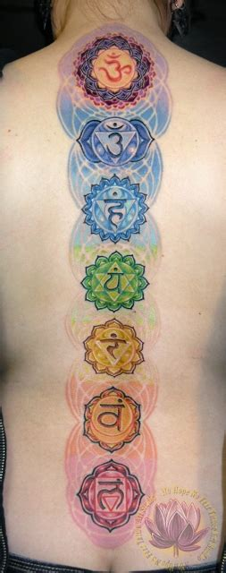 chakras tattoo kern back tattoos no no fear studio