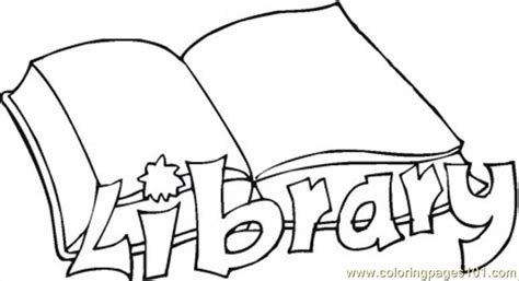 library coloring pages coloring pages library education gt books free