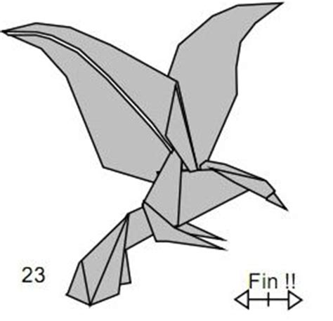 Easy Origami Eagle - 20 best ideas about origami eagle on origami