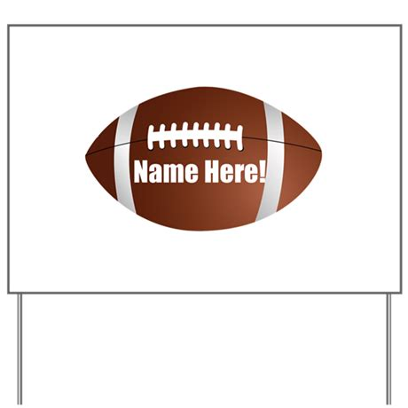 Football Yard Sign Template Personalized Football Yard Sign By Cutetshirtsgift