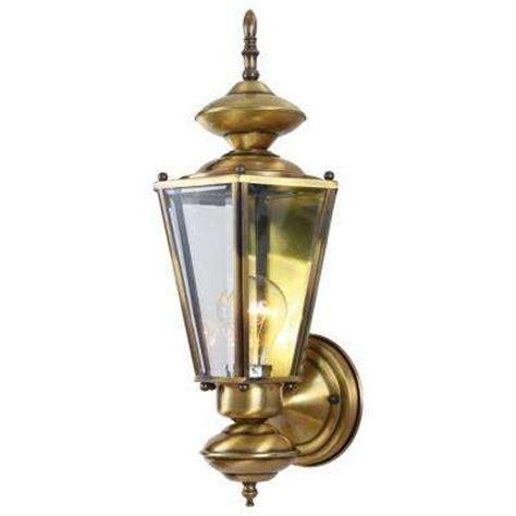 brass outdoor wall light brass gold outdoor wall mounted lighting outdoor