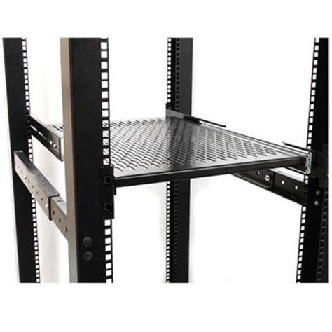 2u Sliding Rack Shelf by Startech 2u Sliding Vented Rack Mount Shelf Unisldshf19