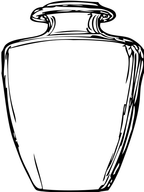 coloring page jar free coloring pages of clay jar