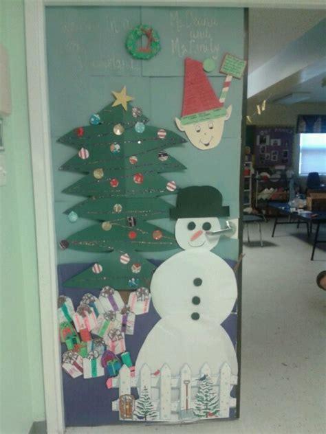 winter door decorations for preschool 17 best images about door decor on reindeer