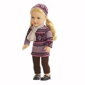 black newberry doll dolls and scarfs on