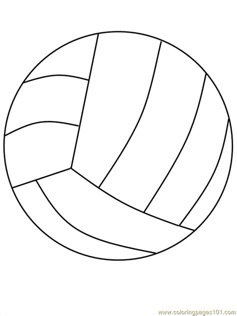volleyball printable coloring pages