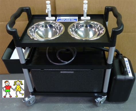 mobile wash sink unit portable childs mobile wash sink unit ideal for