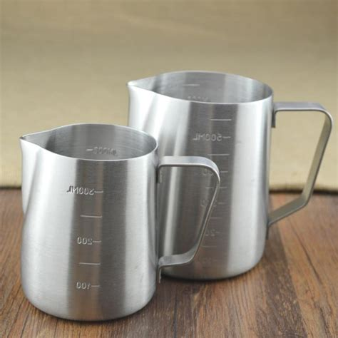 Milk Jug Professional Latte Coffee Latte Cappuccino 350ml 1 popular milk frother pitcher buy cheap milk frother