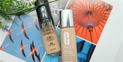 Pembersih Muka Clinique milani conceal 2 in 1 foundation and concealer product cosmetics reviews