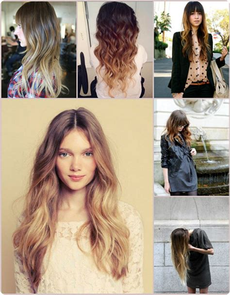 the latest brown ombre hair colors at blog vpfashion vpfashion 11 stylish stars with brown and blonde ombre hair vpfashion