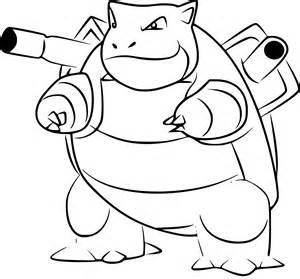 Coloriage Tortank Pokemon Go &224 Imprimer Sur COLORIAGES Info sketch template