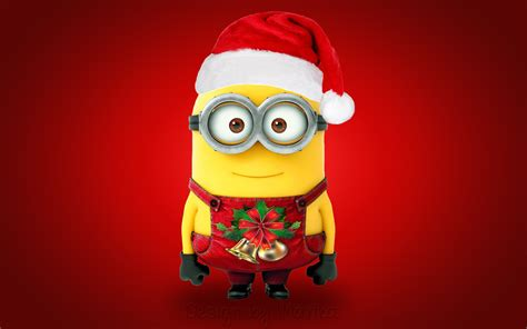 images of christmas minions christmas santa minion wallpapers hd wallpapers id 15851