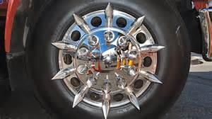 Why Do Trucks Spikes On Rims Spike Lug Nut Covers Bcnd