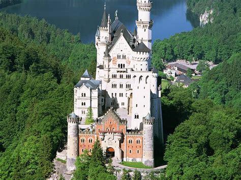 historical castles castle neuschwanstein at schwangau germany castle