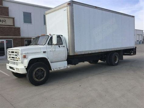 1987 gmc 7000 heavy duty cab chassis truck for sale