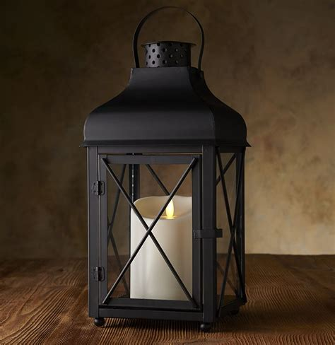 Outdoor Candle Lanterns Get The Look Of Beautiful Outdoor Lanterns Without The Risk Of Real Flames The Luminara