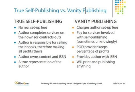 Vanity Publishing Costs by An Introduction To Vanity Presses What They Are And How