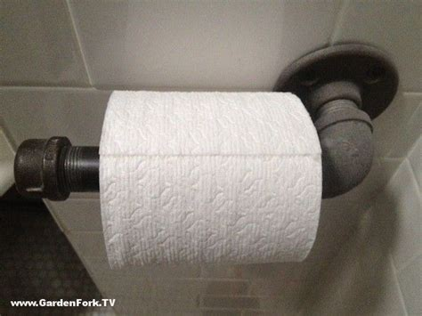 Make Your Own Toilet Paper - industrial style bathroom accessory here s how to make