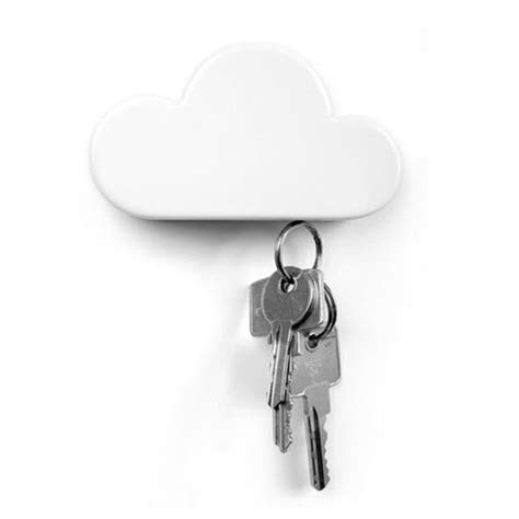 Set Of 4 Cloud Wall Holder gifts for the college set think humor and practicality