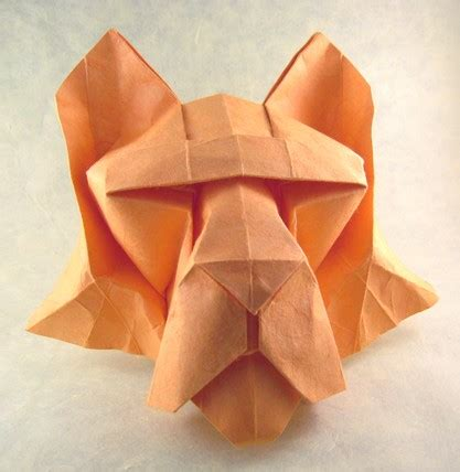 How To Make Origami Tiger - origami the paper tiger together with japan