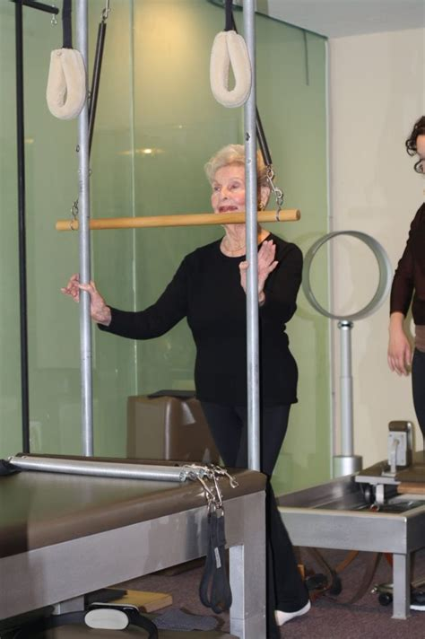 ruth is 100 years old and does pilates to keep fit i love 100 year old doing pilates video advanced style