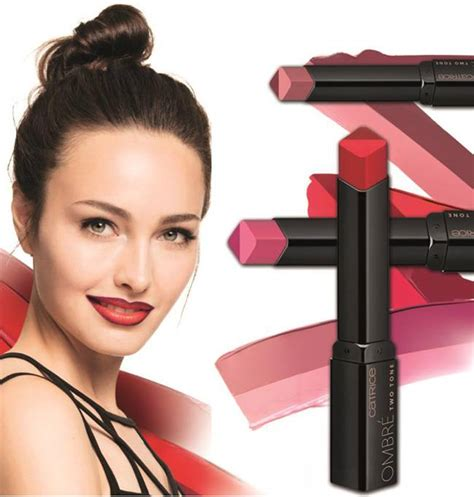 Catrice Lipstick Collectie catrice 2017 ombre two tone lipstick trends and makeup collections chic