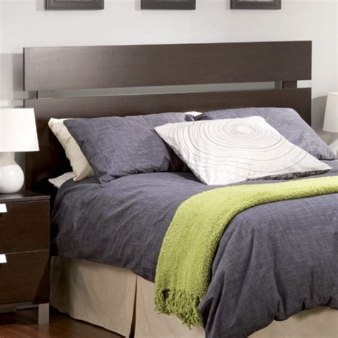 diy modern headboard cakao headboard by south shore full queen modern
