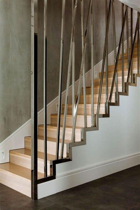 Treppengeländer Rund by Die Besten 25 Moderne Treppe Ideen Auf