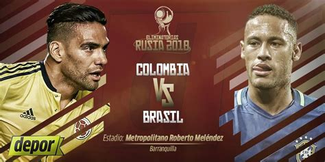 colombia vs brasil en vivo c 243 mo ver partido tv en