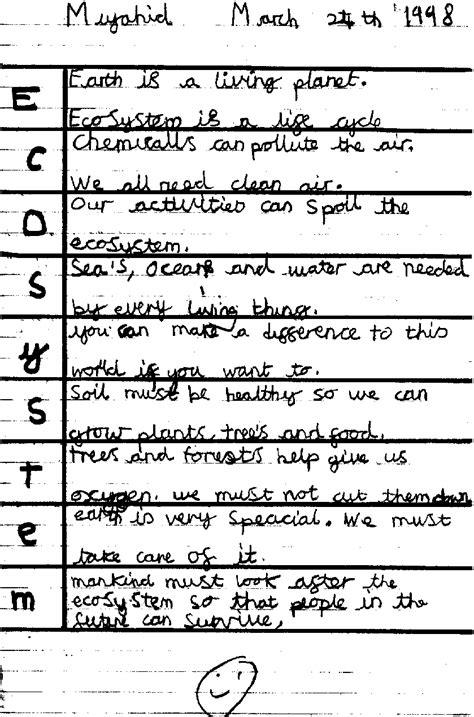 Ecosystem Poems Poems