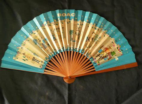 Paper Fan - boac advertising paper fan from molotov on ruby
