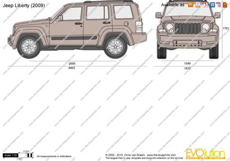 jeep vector the blueprints com vector drawing jeep liberty