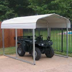 Portable Garages And Shelters Metal Portable Affordable Atv Sport Shelters Atv Carports