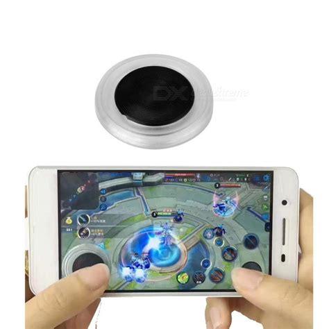 Mobile Joystick For Gaming Bulat Versi 3 ultra thin mobile joystick stick controller transparent free shipping dealextreme