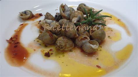 lumachine di mare come cucinarle lumache di mare ricette vinna