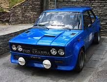 Fiat 131 Abarth Rally Fiat 131